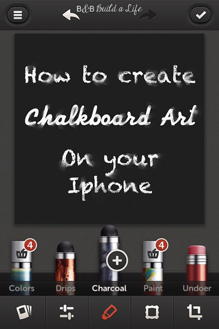 Do it yourself chalkboard art on your smartphone or iphone do it yourself chalkboard art on your smartphone or iphone bandbbuildalife solutioingenieria Gallery