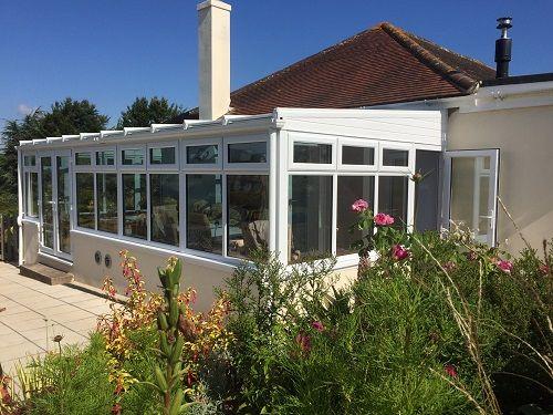 Ags Windows Newton Abbot White Upvc Lean To Conservatory