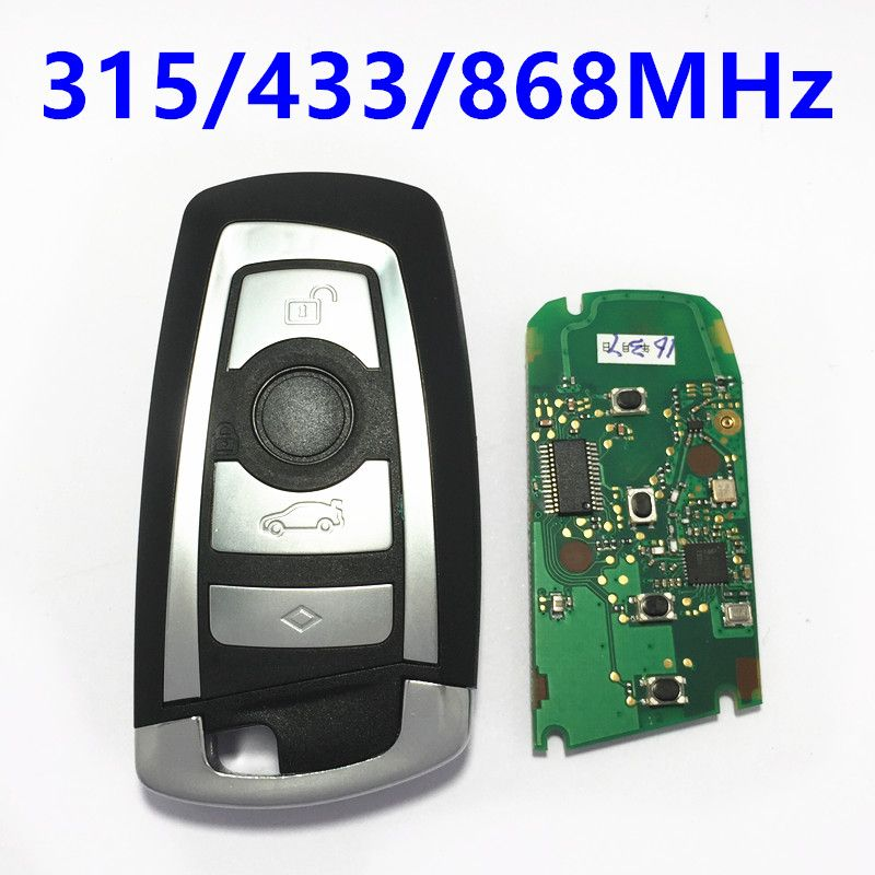 315Mhz 433Mhz 868Mhz CAS4 Car Smart Remote Key Keytless Entry for BMW F-chassis 5 7 Series 523 528 535 550 730 740 750 760 #Affiliate