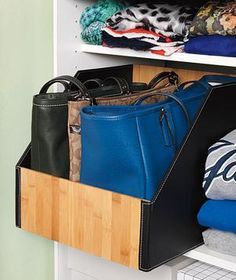 Shelf Dividers For Handbags   Google Search