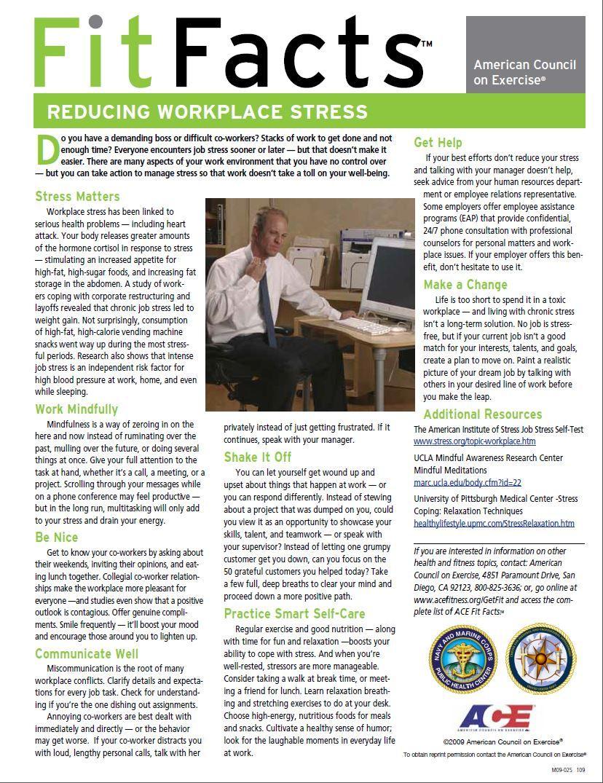 5 Stress Management Techniques Stress, Emotional