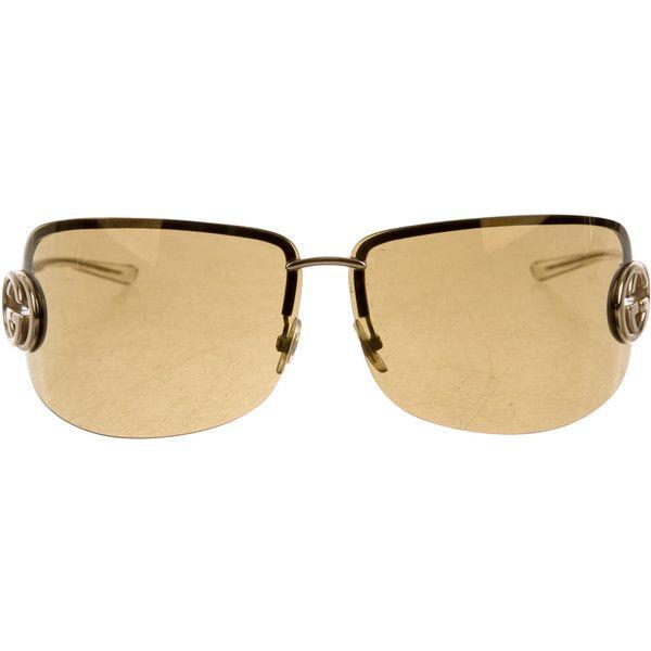 c096fb4439 Pre-owned Gucci GG Reflective Sunglasses (2