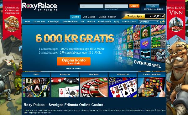 Roxy Palace Casino Free Games