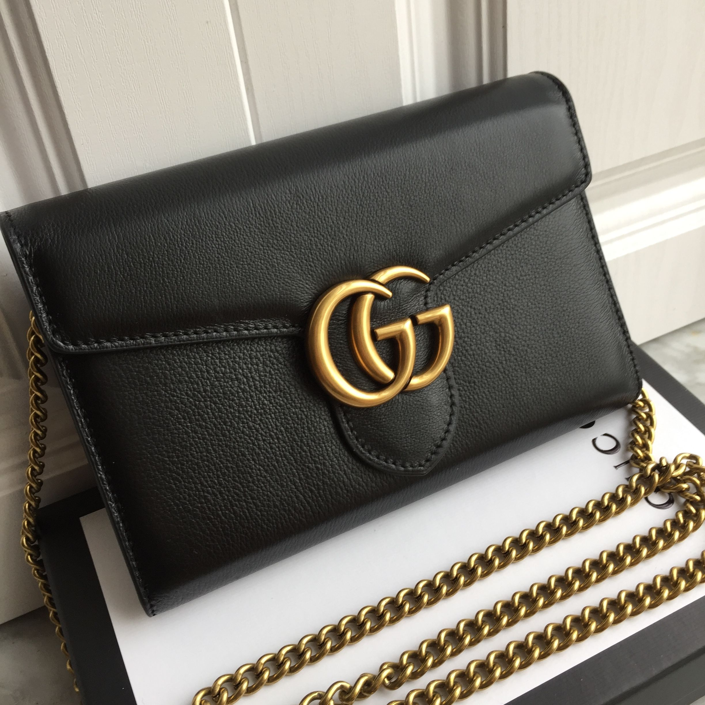 d8163e4125e Gucci woman soho clutch WOC chain flap bag Pinterest  MANARELSAYED ...