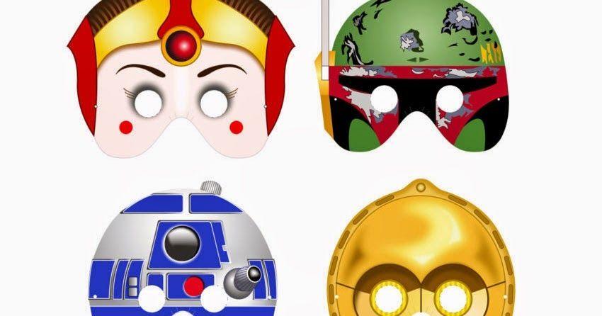 Máscaras de Star Wars para Imprimir Gratis. | Ideas y material ...