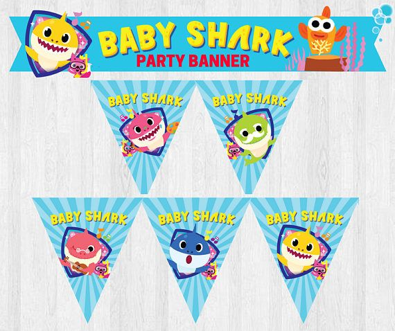 This Listing Is For Pinkfong Baby Shark Under The Sea