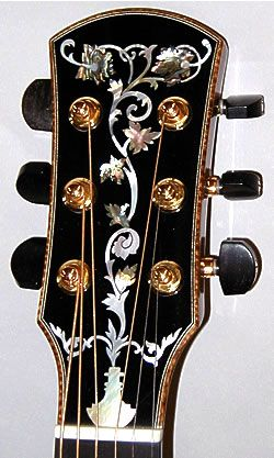 Other Guitars And Mandos Guitar Inlay Guitar Gifts Custom Acoustic Guitars