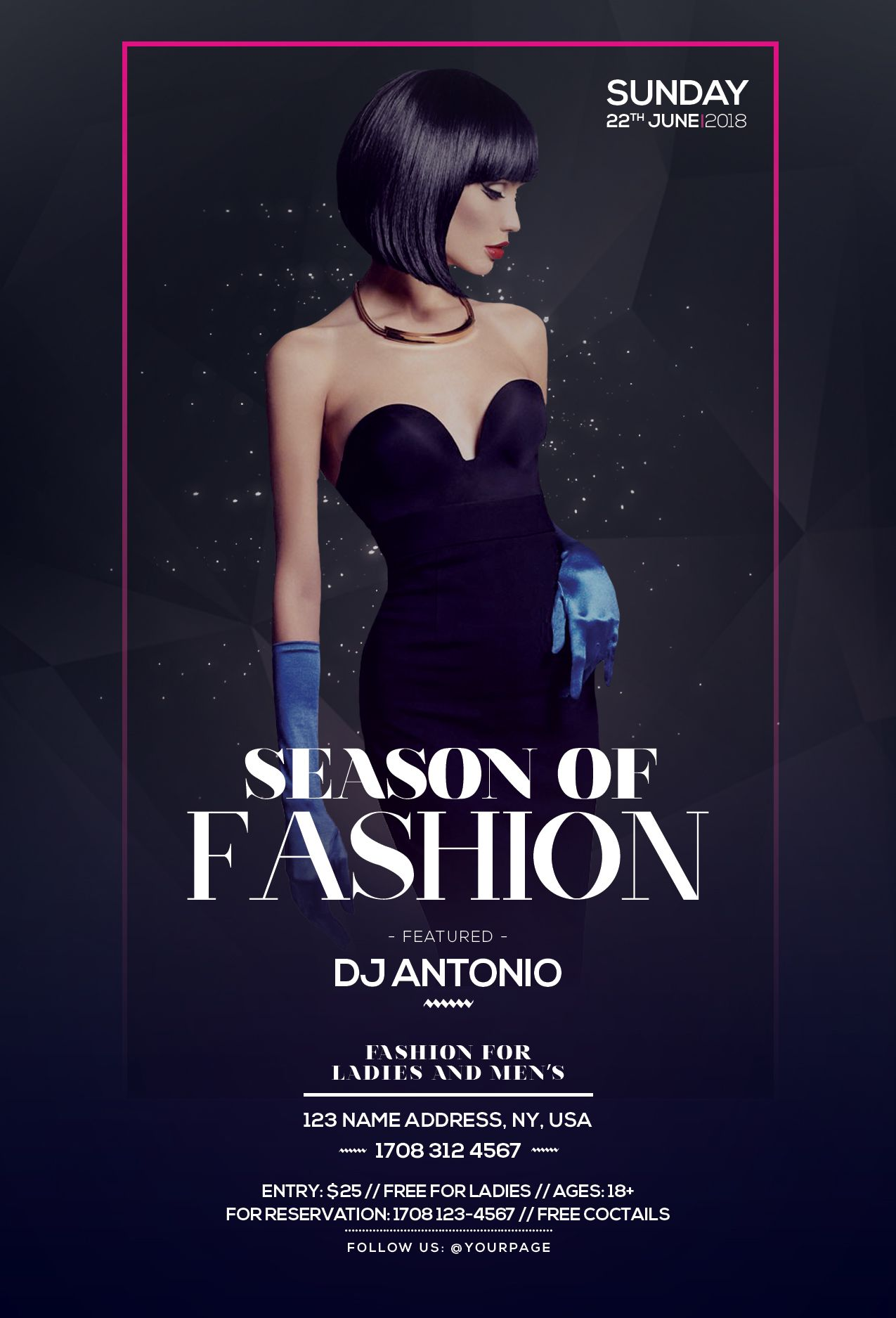 """Check out my @Behance project: """"Season of Fashion - PSD ..."""