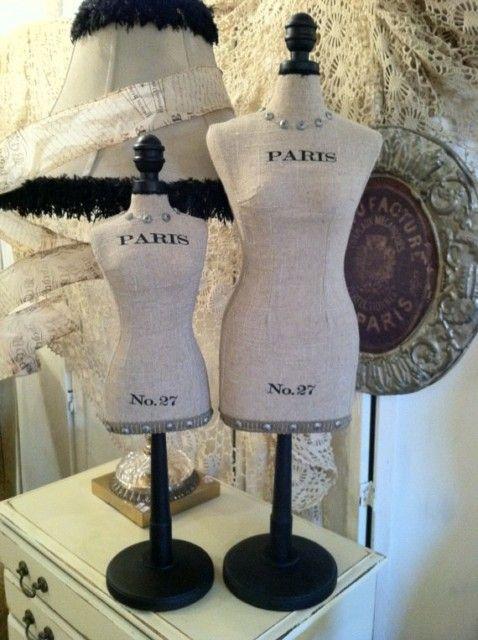 Paris Mannequin Dress Form Burlap 24 Quot Mannequin Dress