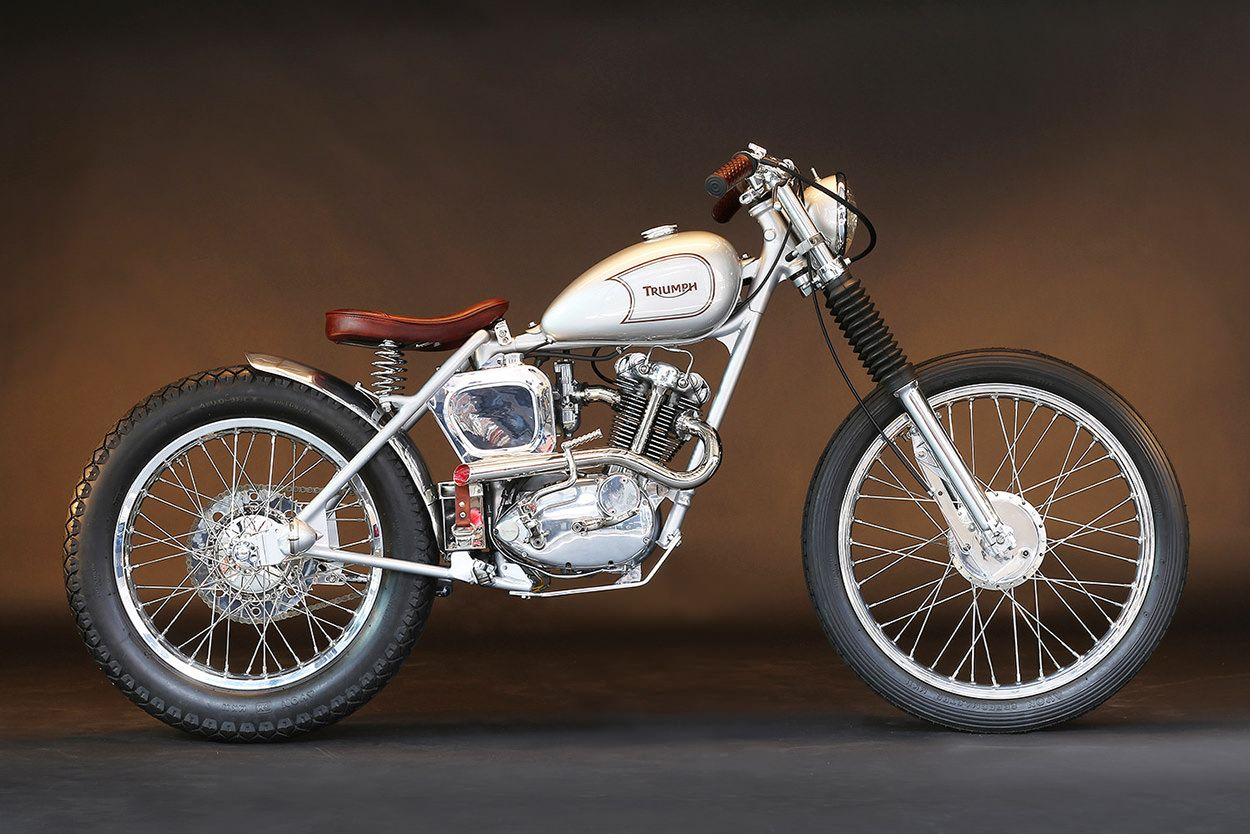 Triumph Tiger Cub With Sammy Miller Frame 200cc Of Beauty