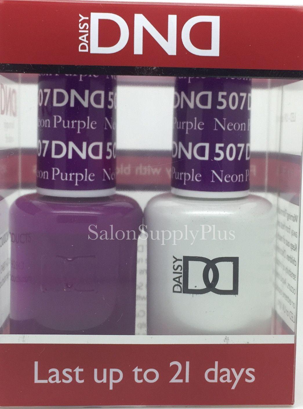 507 - DND Duo Gel - Neon Purple