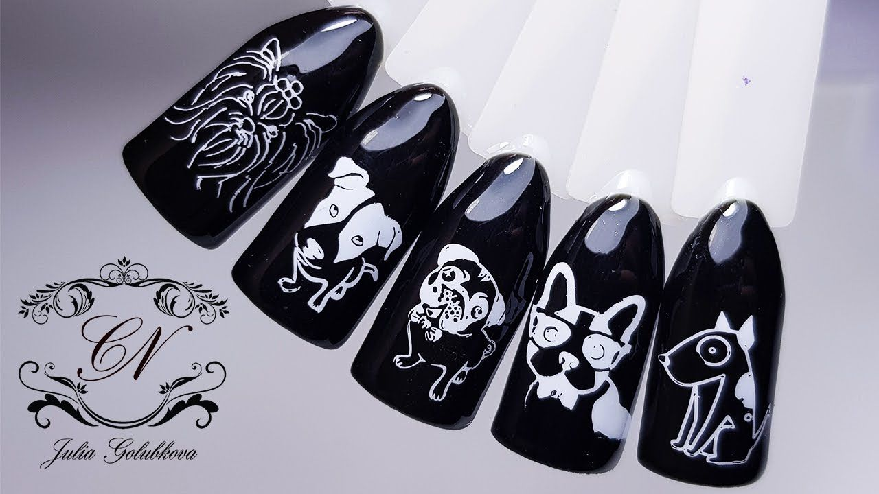 Thermal animal stamping nail art tutorial video, like it? Check it ...
