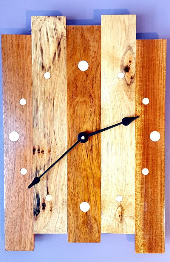 Check out this item in my Etsy shop https://www.etsy.com/listing/265221938/wall-clock-large-wall-clock-wood-rustic