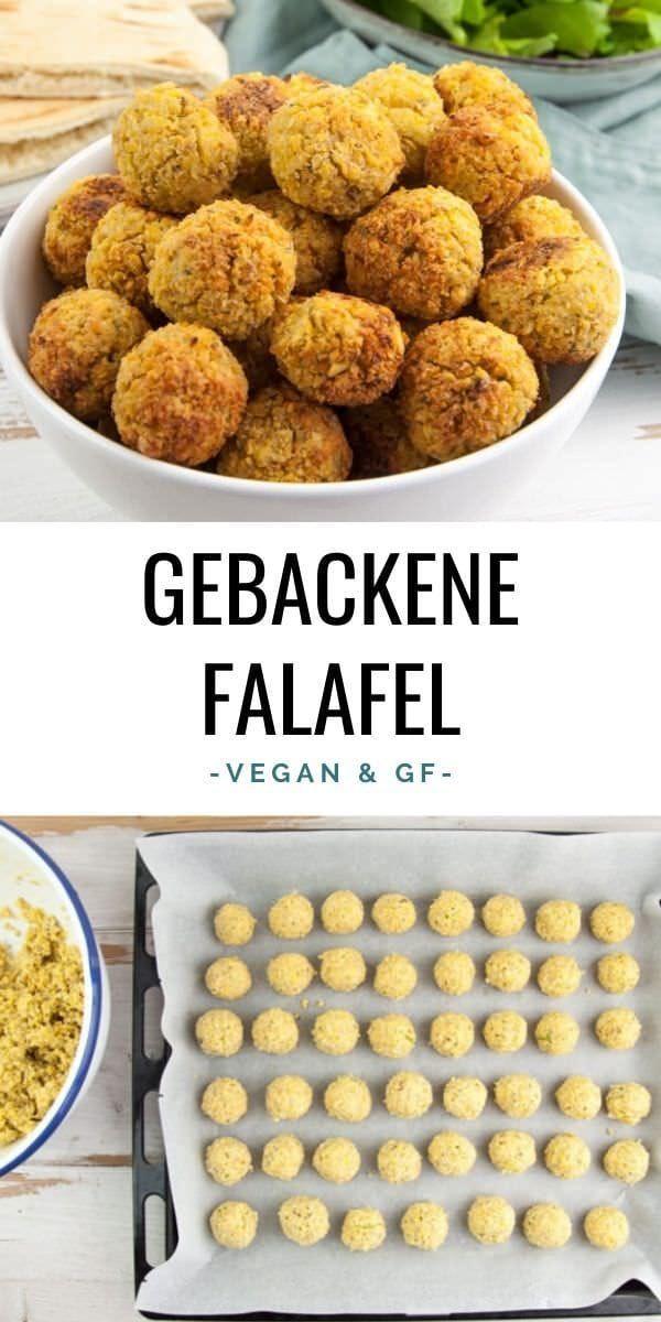 Gebackene Falafel (Einfrierbar!) Rezept | Elephantastic Vegan