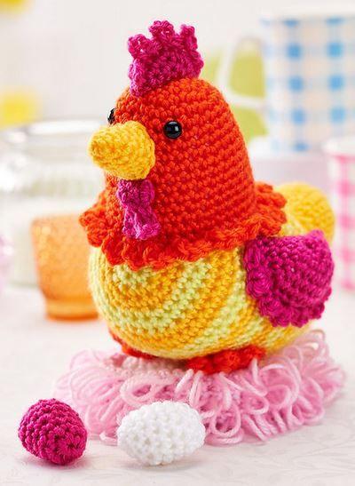 Crochet Chicken Pattern Available In Magazine Issue 73 Sneak Peek