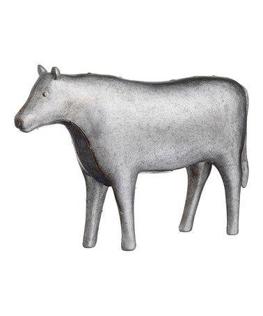 Love this Antique Silver Cow Figurine on #zulily! #zulilyfinds