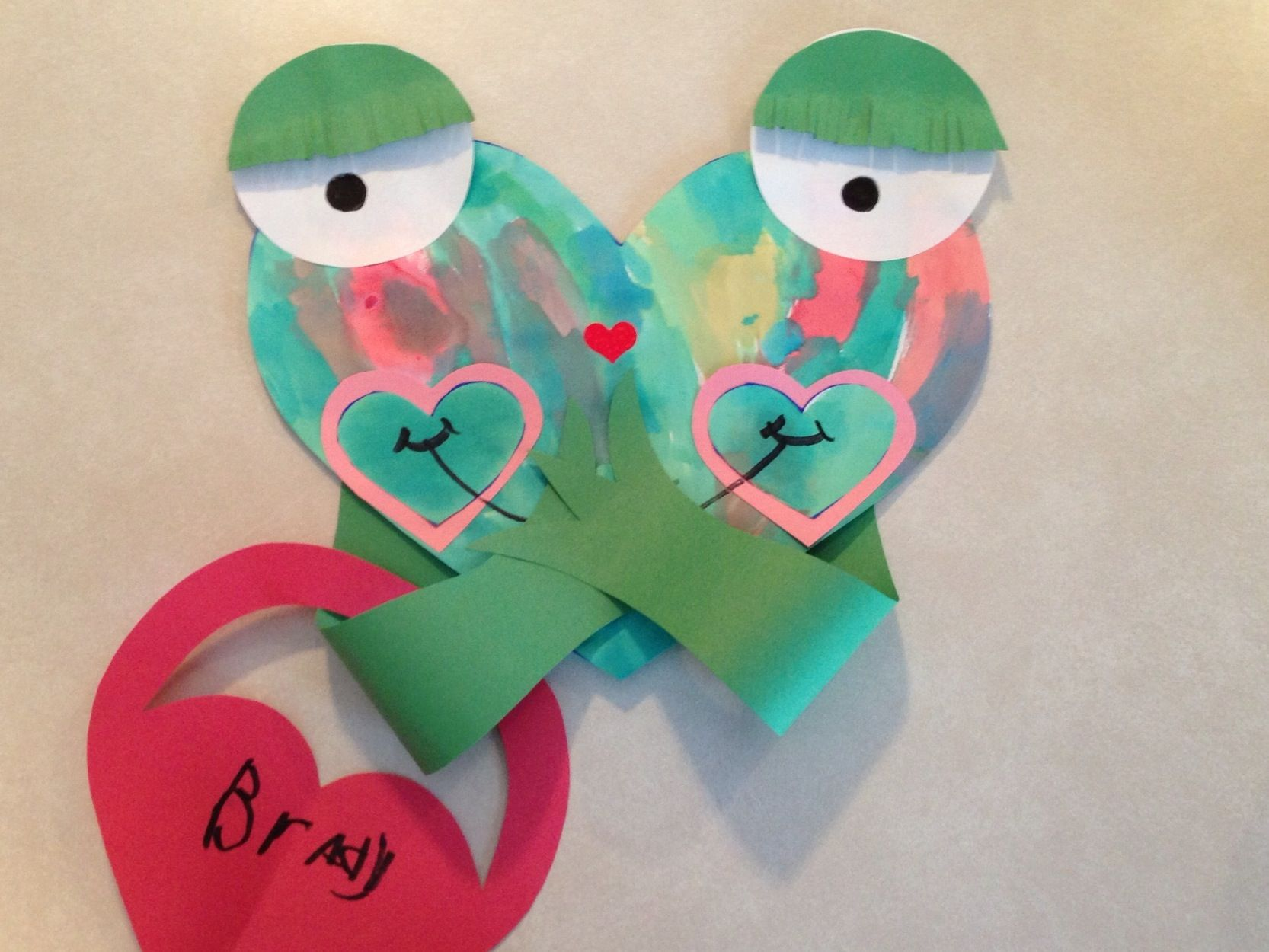A Froggy Valentine Craft To Read Along With Froggy S First Kiss By