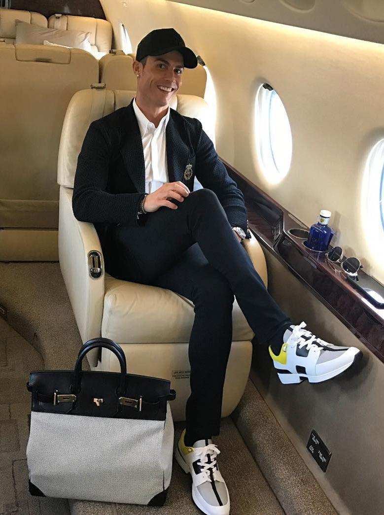 Cristiano Ronaldo turns 32  cristiano  cristianoronaldo  hermes   dolcegabbana a7bfb303a11