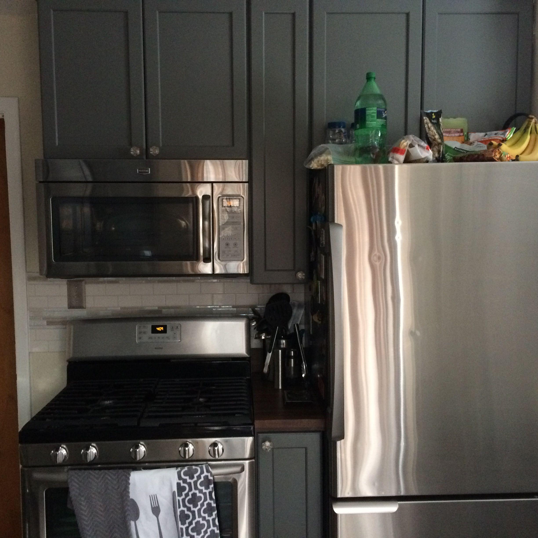 Kraftmaid grey kitchen cabinets - Kraftmaid Cabinets Greyloft