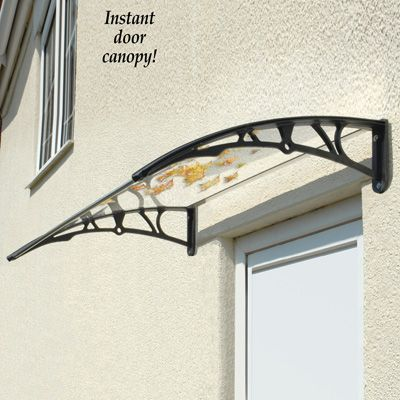 & Instant Door Canopy Shield | Door canopy Canopy and Doors