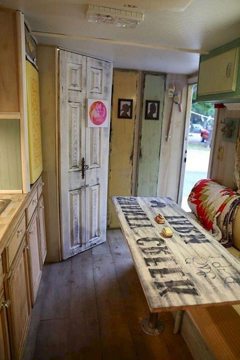 45 smart bathroom rvs and camper travel trailer remodel