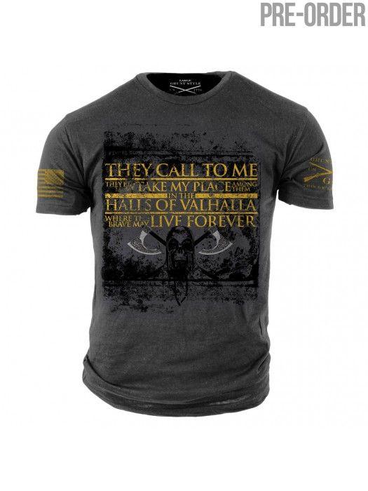 a4187ee0 Valhalla Viking prayer Shirt- Grunt Style | viking stuff | Grunt ...