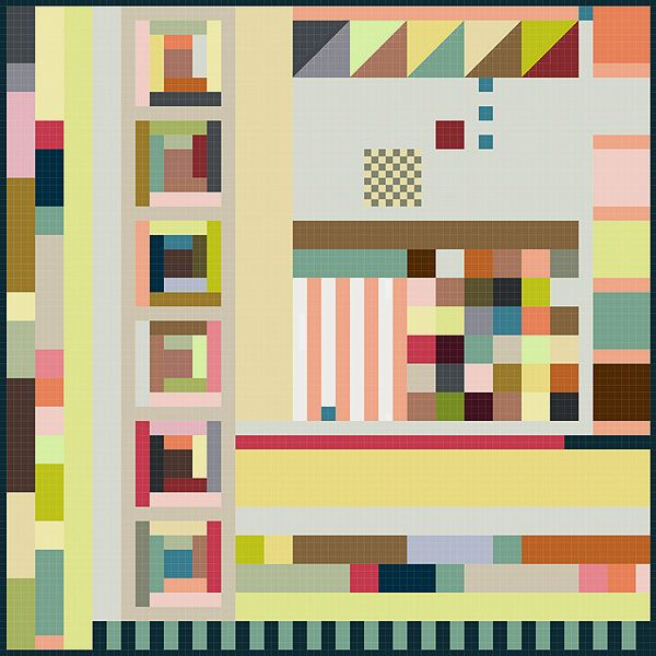 Great quilt idea from rosylittlethings. I want to make it!