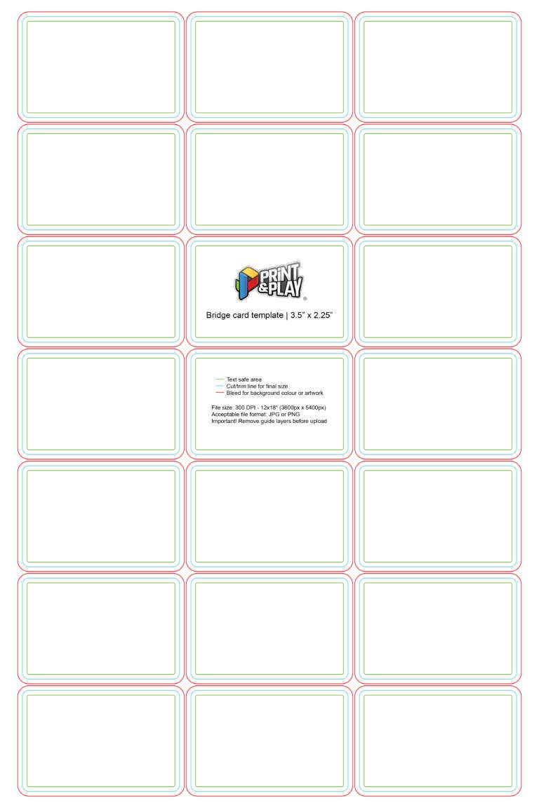 Playing Cards Formatting Templates Print Play Regarding Playing Card Template Illustrator Printable Playing Cards Place Card Template Heart Pop Up Card