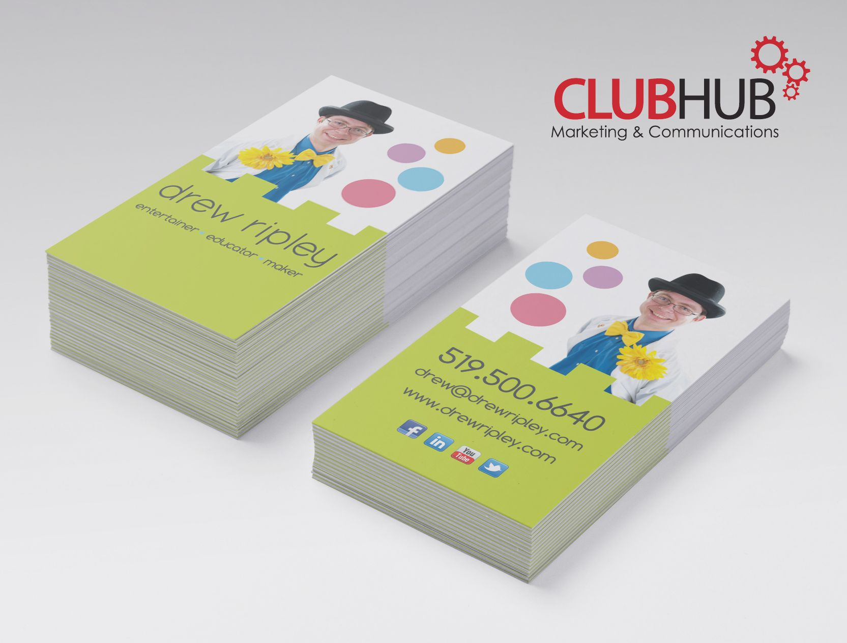Entertainer business card business cards pinterest business entertainer business card colourmoves