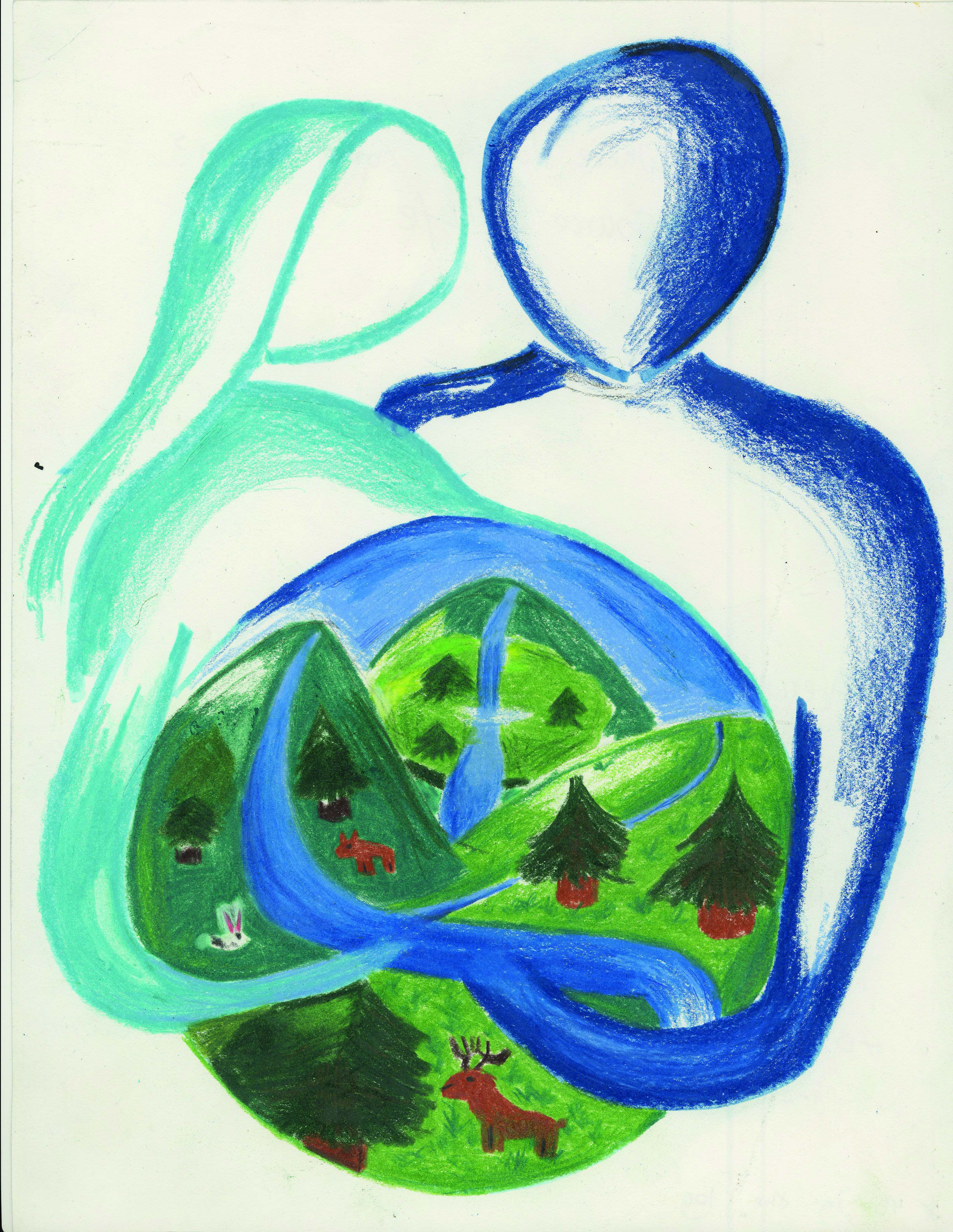 2013 International Children's Painting Competition Finalist, Alexander Wu, Age 10 #WED2013