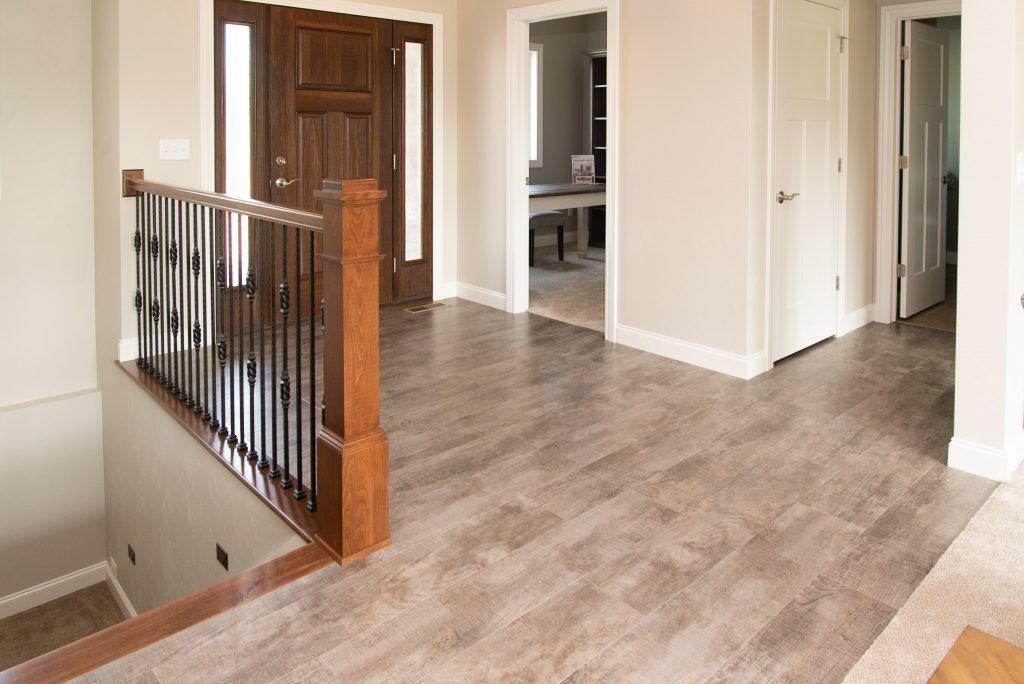 Brown And Grey Luxury Vinyl Plank Flooring Vinyl Plank Flooring Flooring Vinyl Flooring