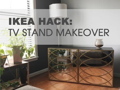 Ikea Hack How To Makeover An Ikea Tv Stand Youtube Diy Home