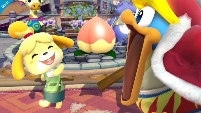 Isabelle Of Animal Crossing, Assist Trophy & King Dedede