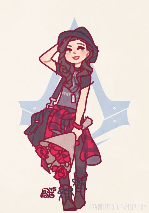 "graphitedoll: ""❤ ♥ ♡ modern day every day !! ♡ ♥ ❤ oh… god i started this on a whim and it killed me, it KILLED me !! i was browsing the ubi workshop for some nice threads and… god… i am never doing this again. i put the fashion style i was going for..."