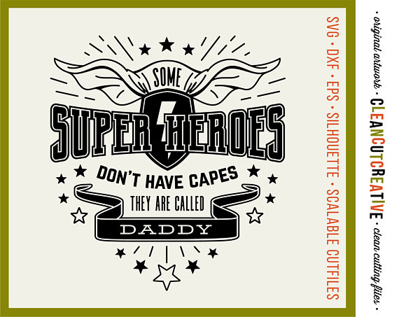 30+ Free Father's Day Superhero Svg SVG, PNG, EPS DXF File