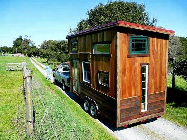 Tiny House On Wheels Inside Tiny Home On Wheels Less Is More Downsizing  Living Large In