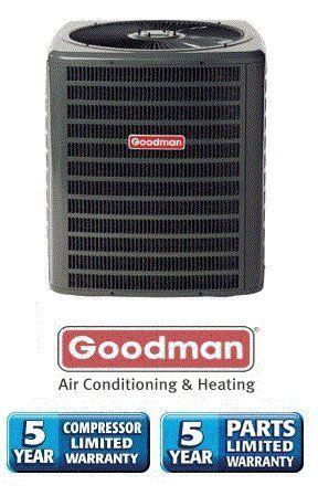 4 Ton 13 Seer Goodman Heat Pump R 22 Gsh130481 By Goodman