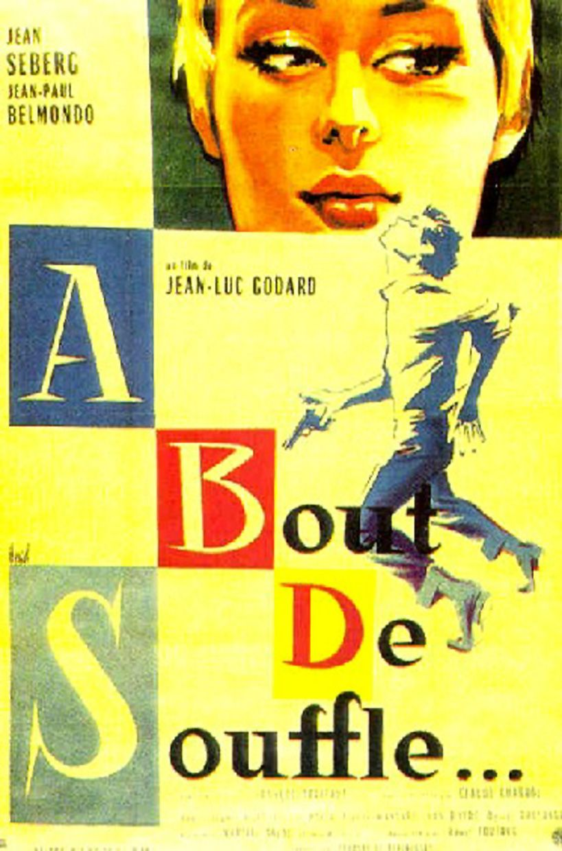 A Bout De Souffle Jean Luc Godard French Movie Posters French New Wave