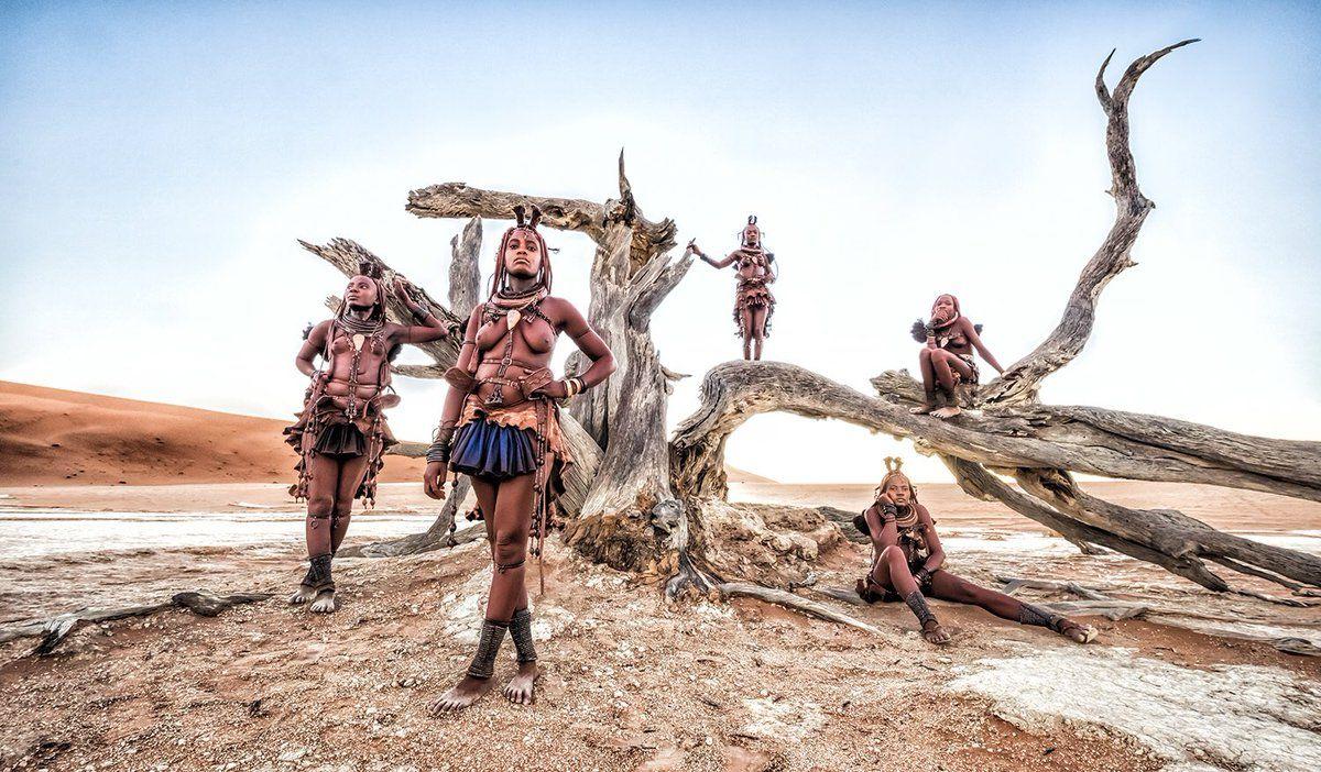 砂漠のヨシダナギ