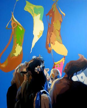 """Saatchi Art Artist Chi Young Sung; Painting, """"Carnival of the Demeter"""" #art"""