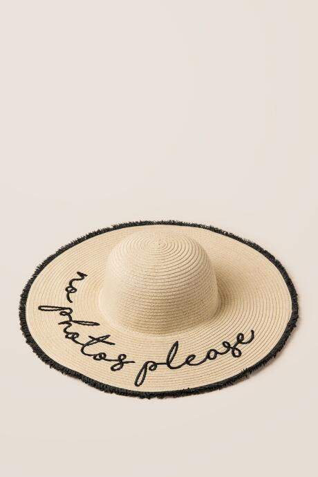 Francesca S No Photos Please Straw Hat Natural Hat Summer Hats Disney Style
