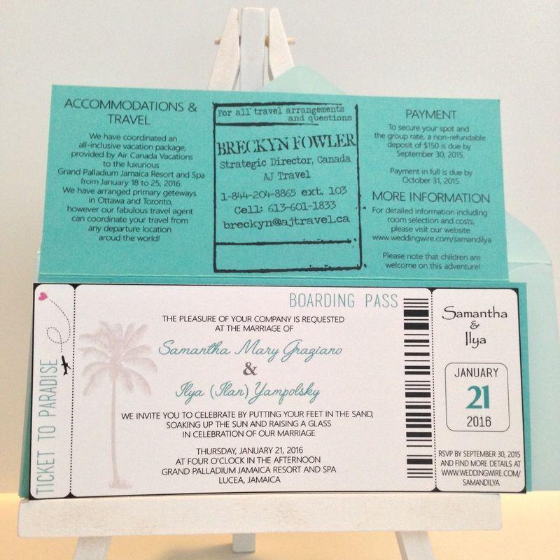 Create custom wedding invitations with HashtagPaper. We create ...