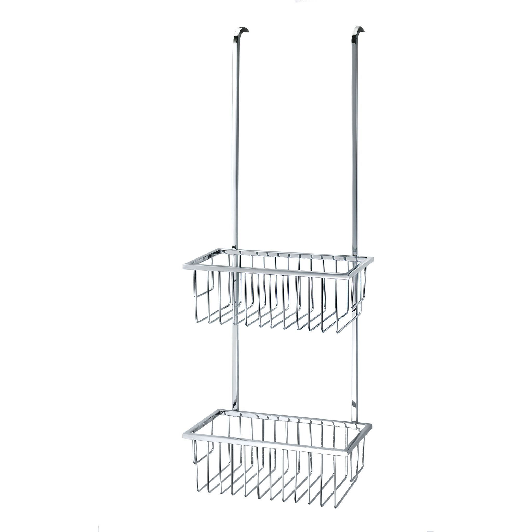 DWBA Bathroom Over the Door Shower Caddy Basket for Shampoo ...