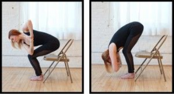 Top Chair Yoga Poses for Strength with Sadie Nardini