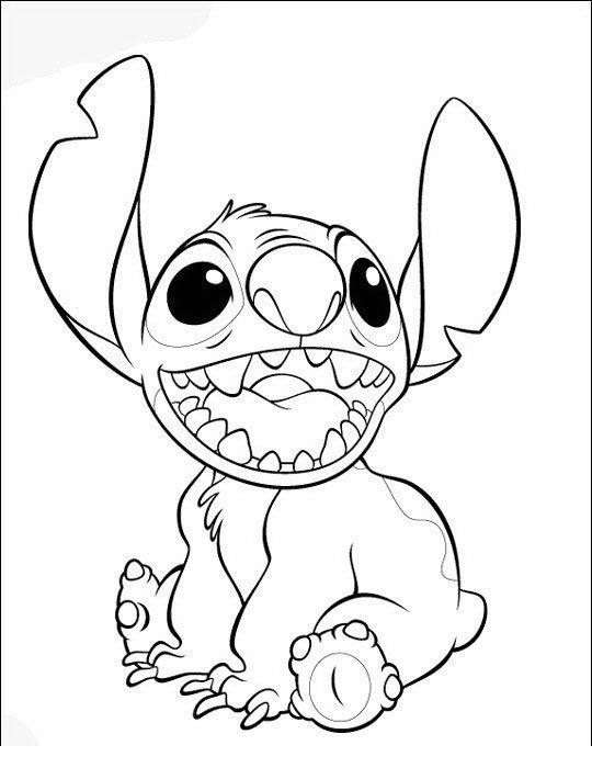 Lilo og Stitch Tegninger til Farvelægning 41 | Patchwork | Pinterest ...
