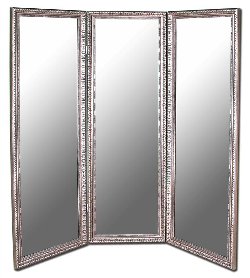 3-Panel Folding Room Divider Mirror & Finishes | A Lady\'s Boudoir ...