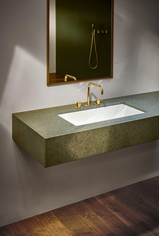 Betteloft Unterbau Waschtisch Betteloft Bette Gold Marmor