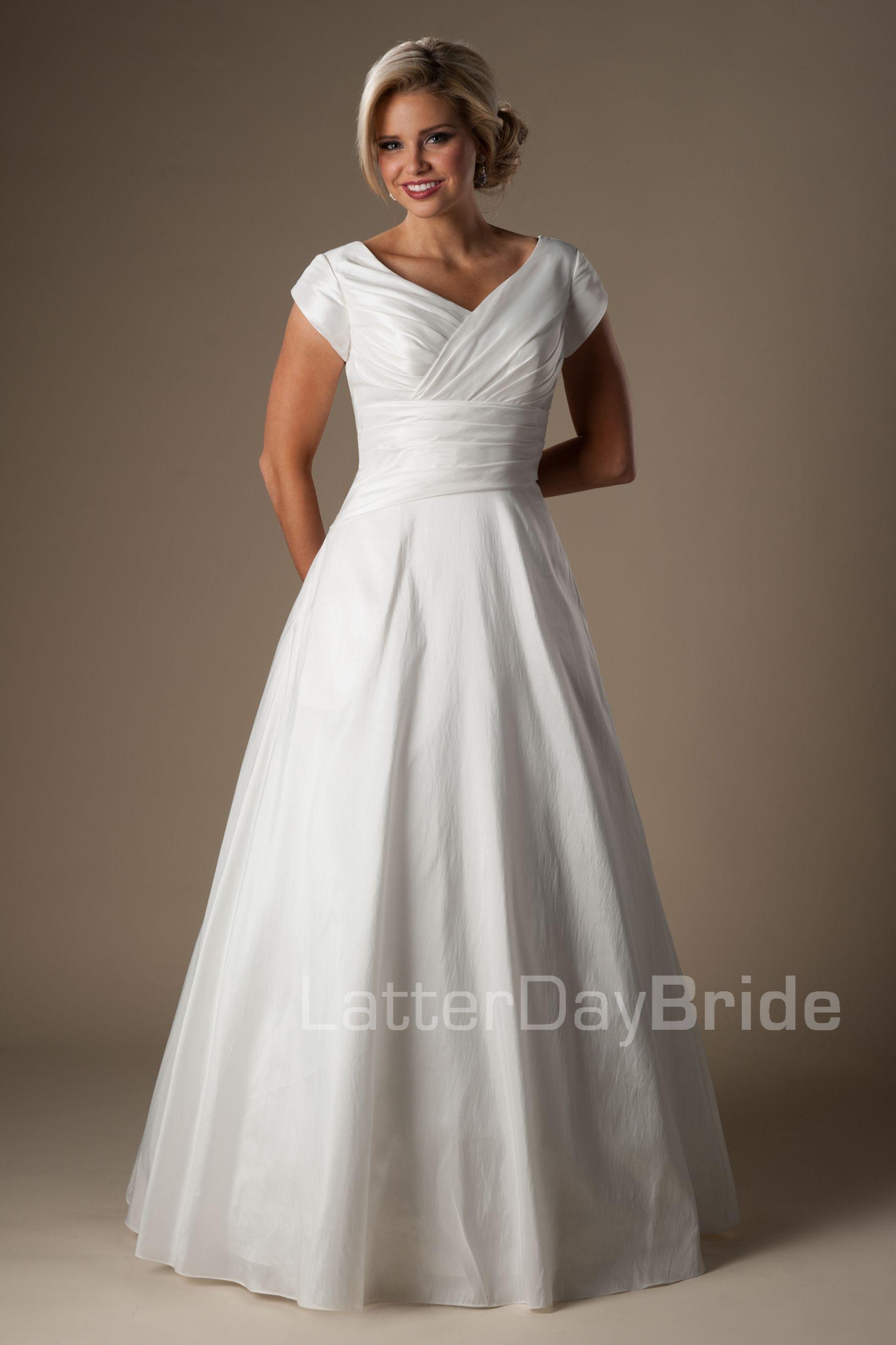 Modest Wedding Dresses : Stapleton | Wedding dresses | Pinterest ...