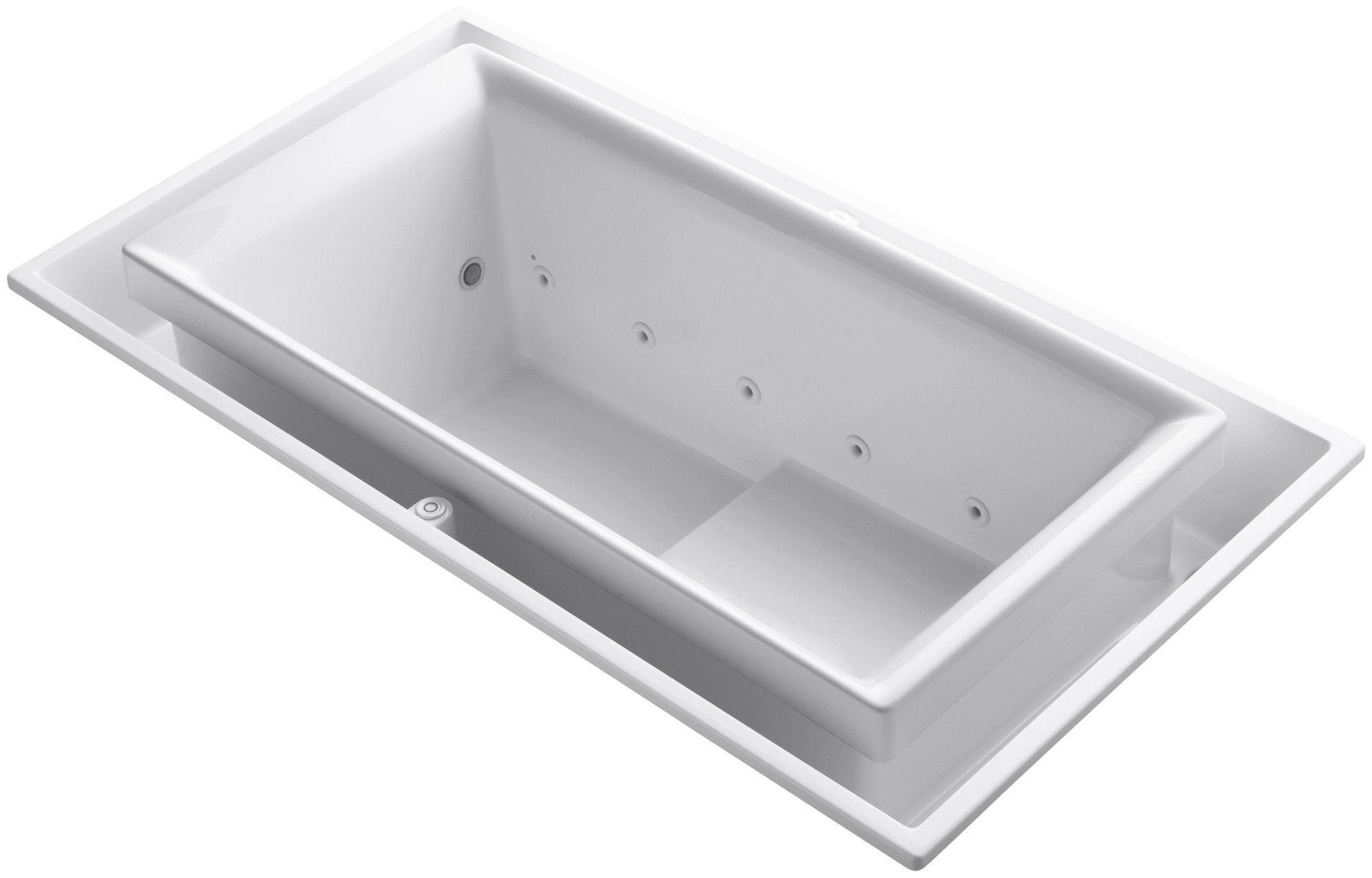 "Sok 75"" x 41"" Air / Whirlpool Bathtub"