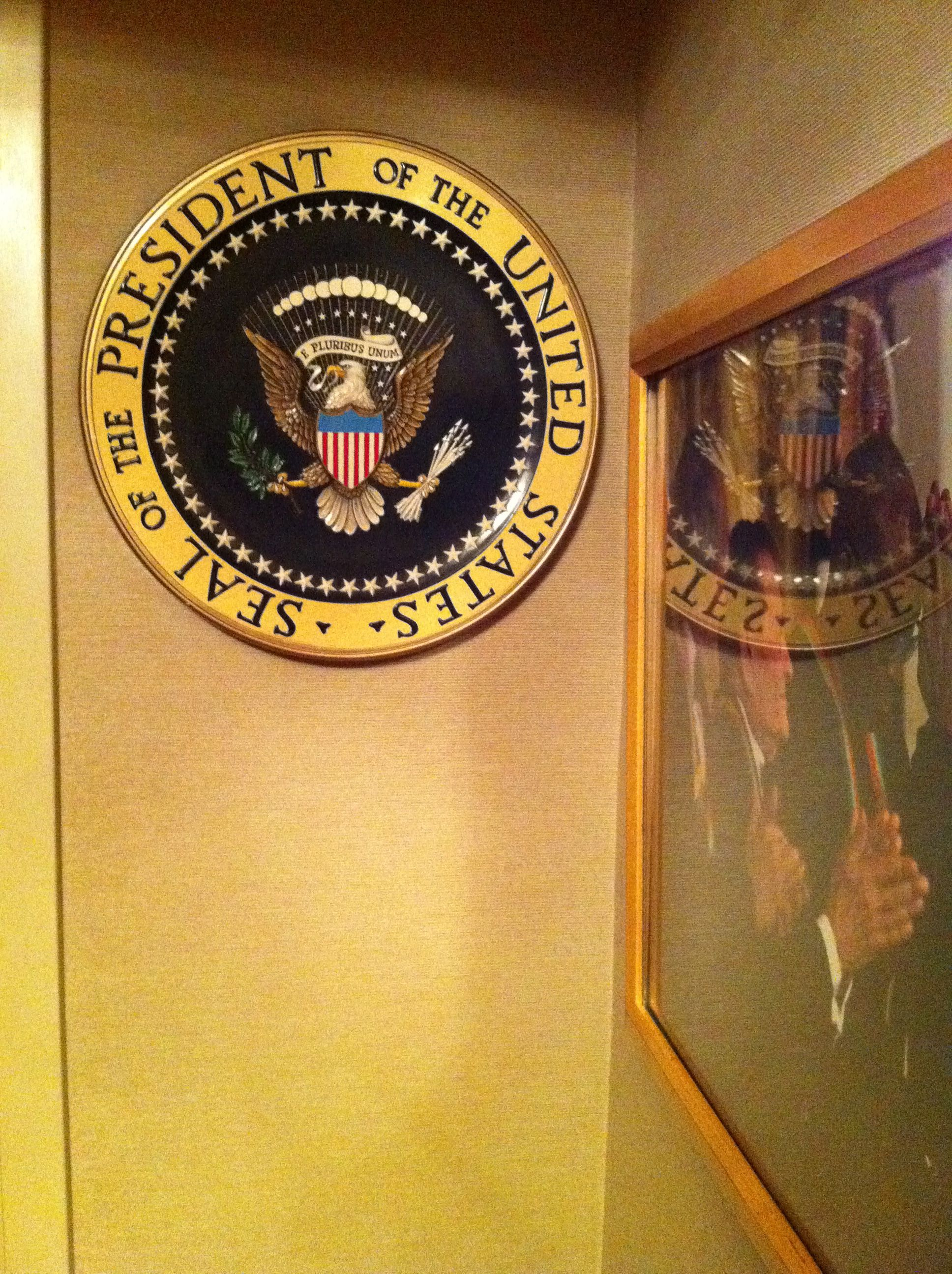 """The Presidential Box. The Kennedy Center. """"Tosca."""" 22 Sept 2011"""